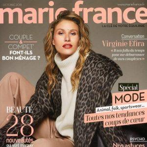 ayurveda sourire dans marie france magazine sept 18 gwenaelle batard