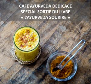 cafe ayurveda dedicace livre ayurveda sourire fev 19