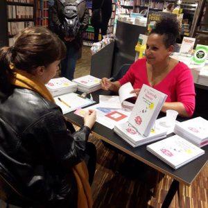 rencontre dédicace signature librairie de paris livre ayurveda sourire gwenaelle batard mars 2019 tete à tete